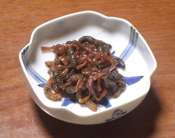 ツクシの煮物
